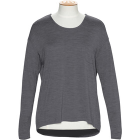 Alchemy Equipment 180GSM Relaxed Longsleeve Merino Top Dames, graphite